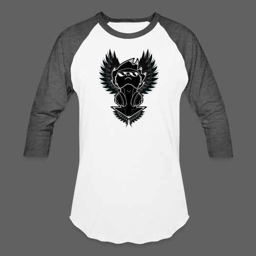 Winged Dj - Baseball T-Shirt