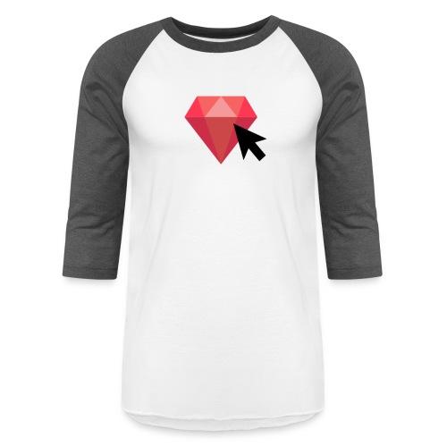 Select Ruby - Unisex Baseball T-Shirt