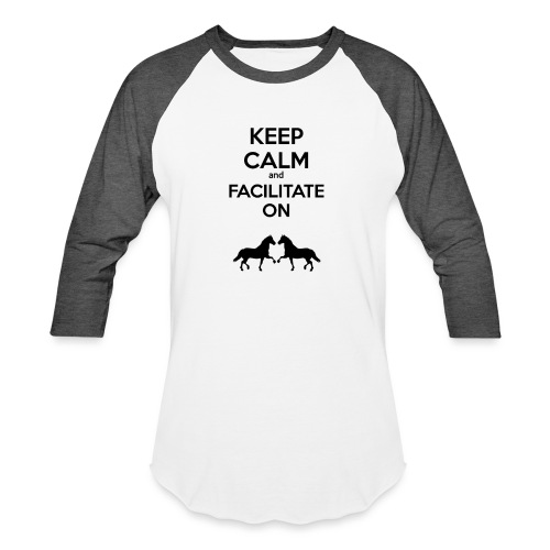 keep calm - Baseball T-Shirt