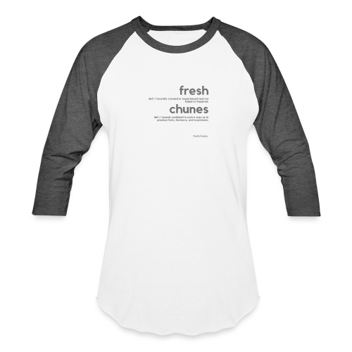 Clothing for All Urban Occasions (Grey) - Unisex Baseball T-Shirt