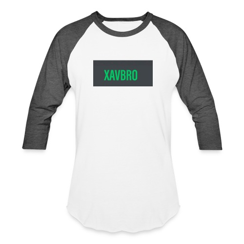 xavbro green logo - Baseball T-Shirt