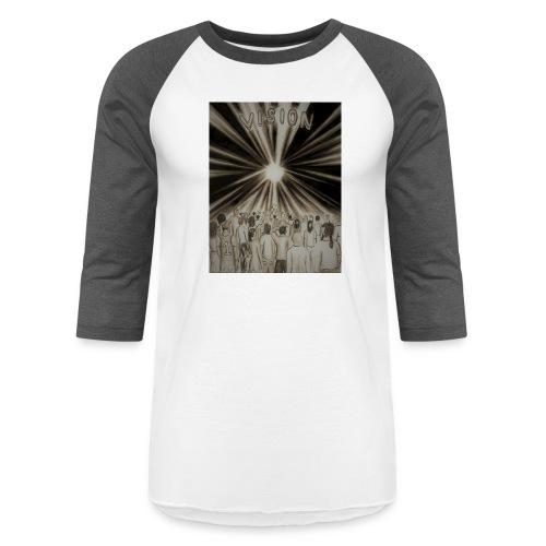 Black_and_White_Vision2 - Baseball T-Shirt