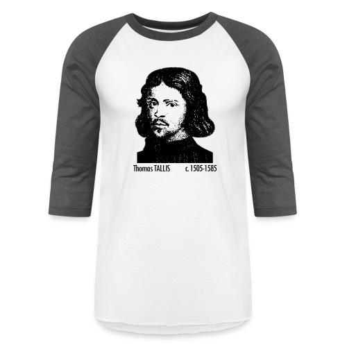 Thomas Tallis Portrait - Baseball T-Shirt