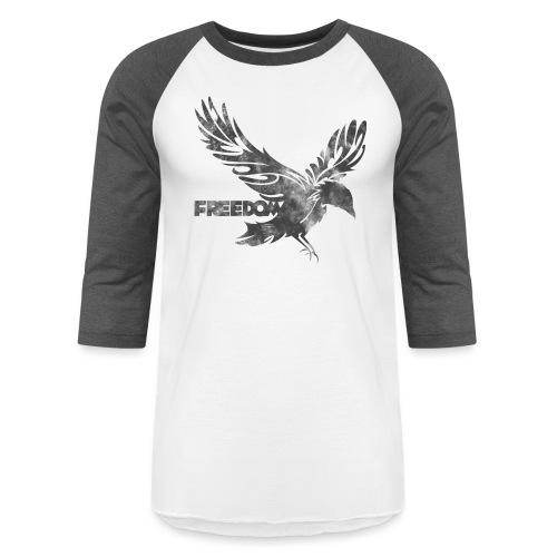 Freedom grey version - Unisex Baseball T-Shirt