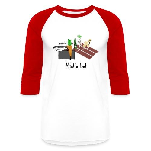 Alfalfa Bet - Baseball T-Shirt