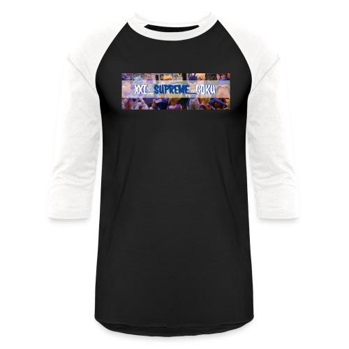 XXI SUPREME GOKU LOGO 2 - Baseball T-Shirt