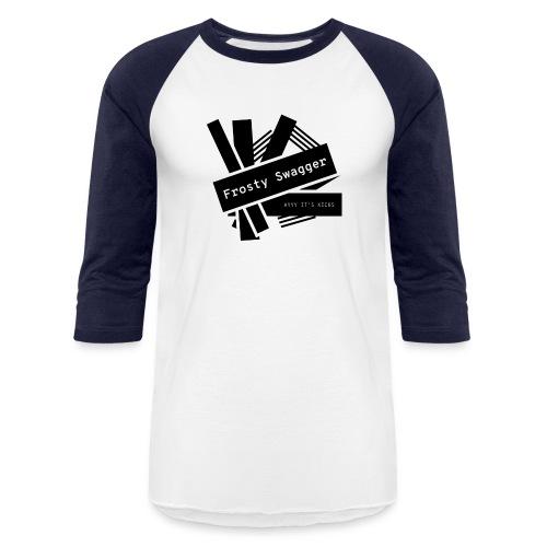 Frosty Swagger Pty Ltd - Unisex Baseball T-Shirt