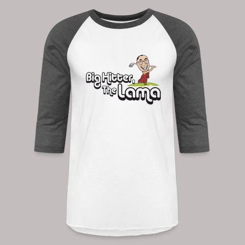 Big Hitter The Lama - Unisex Baseball T-Shirt