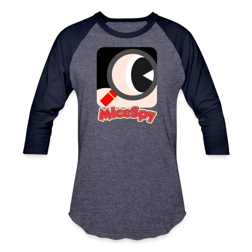 MiceSpy with your eye! - Baseball T-Shirt
