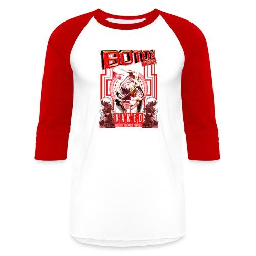 BOTOX MATINEE NAKED 2 T-SHIRT - Baseball T-Shirt