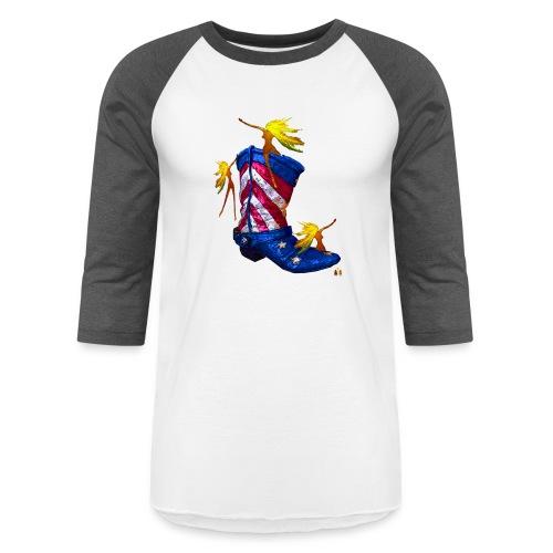 Boot Hoot - Unisex Baseball T-Shirt