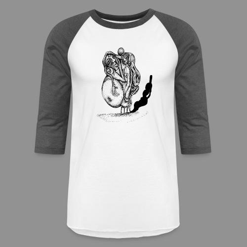Bulky - Unisex Baseball T-Shirt