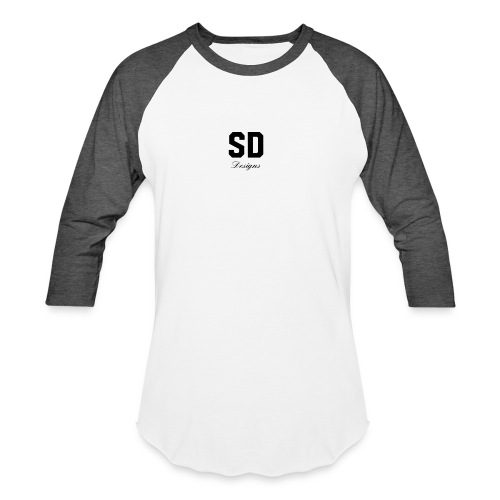SD Designs blue, white, red/black merch - Baseball T-Shirt