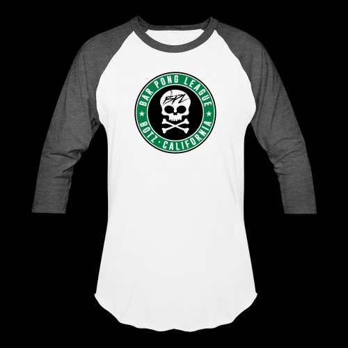 Bar Pong Badge Logo - Baseball T-Shirt