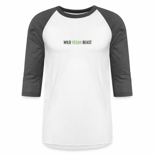 wild vegan beast - Unisex Baseball T-Shirt