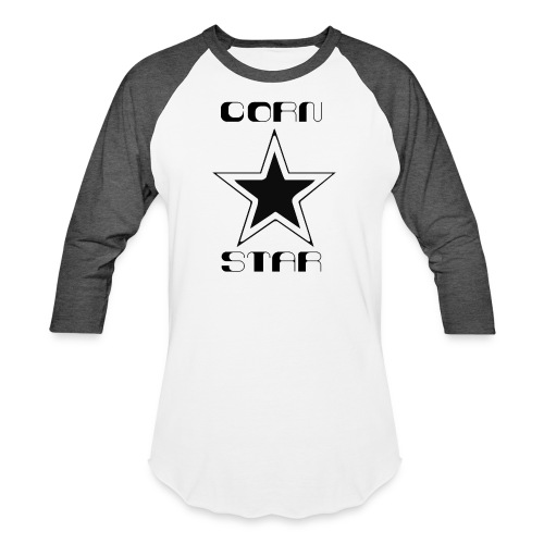 Cornstar - Unisex Baseball T-Shirt