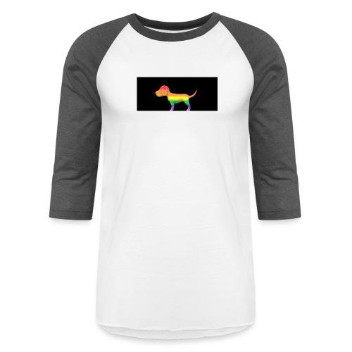 Gay dog - Unisex Baseball T-Shirt