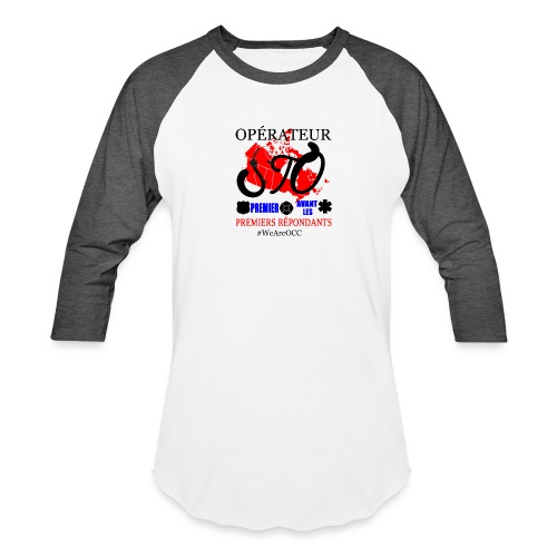Operateur STO - Baseball T-Shirt