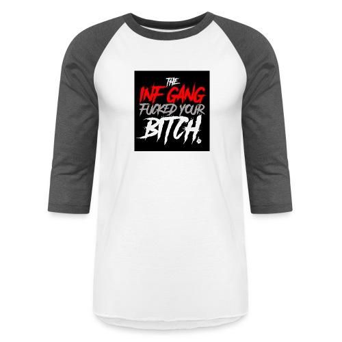 inf_gang_black - Baseball T-Shirt