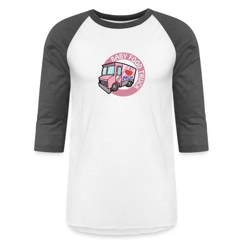 Pink baby food truck - Baseball T-Shirt