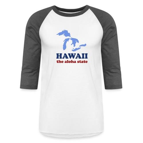 Geographically Impaired - Unisex Baseball T-Shirt