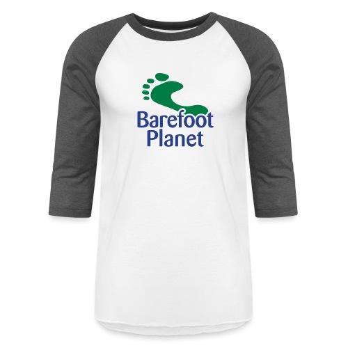I Run Better, I Run Barefoot Women's T-Shirts - Baseball T-Shirt