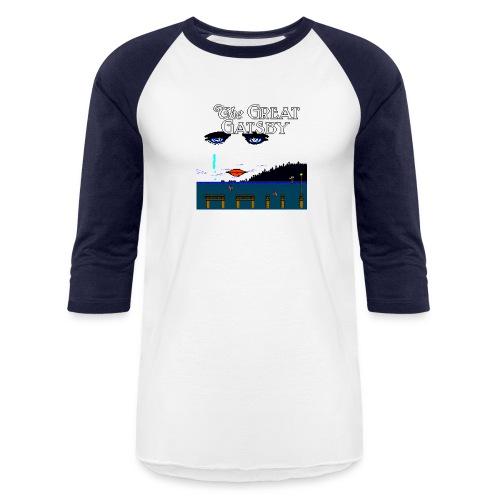 Great Gatsby Game Tri-blend Vintage Tee - Baseball T-Shirt
