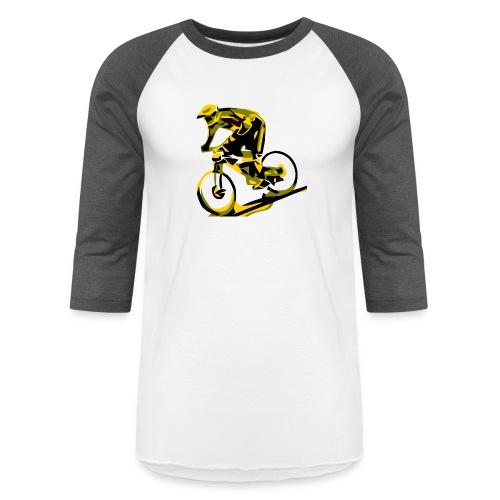 DH Freak - Mountain Bike Hoodie - Unisex Baseball T-Shirt