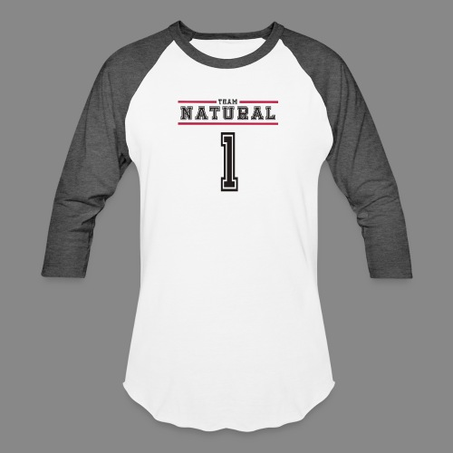 Team Natural 1 - Unisex Baseball T-Shirt