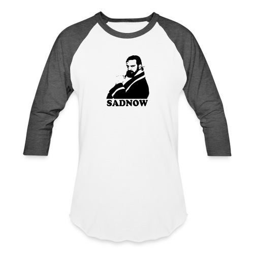 MEGAPOWERS RADIO SADNOW MENS TSHIRT - Unisex Baseball T-Shirt