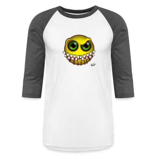 Smilez (Silly Facez) - Baseball T-Shirt