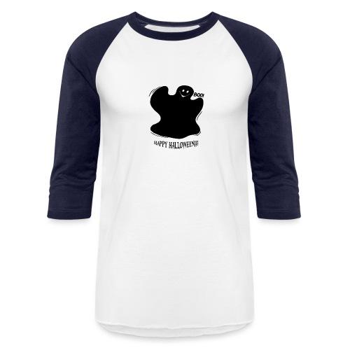 Boo! Ghost - Baseball T-Shirt
