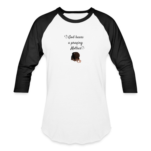 Praying Mother - Baseball T-Shirt