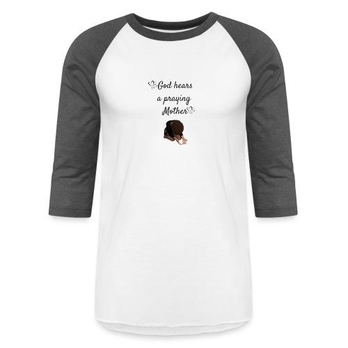 Praying Mother - Unisex Baseball T-Shirt