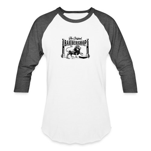The Original Barbershop - Unisex Baseball T-Shirt