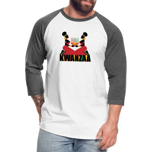 Kwanzaa - Unisex Baseball T-Shirt