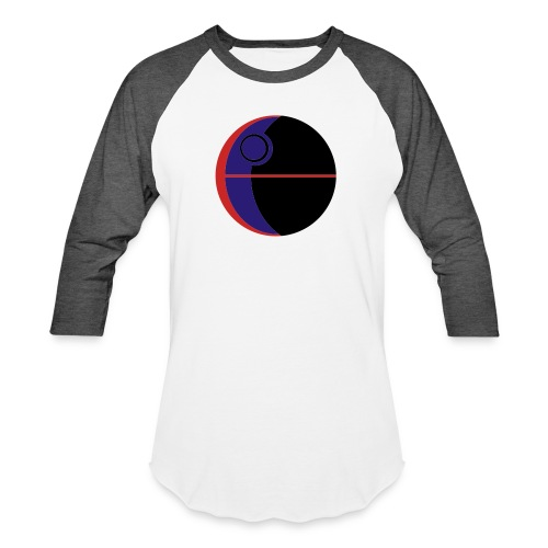 This Is Not A Moon - Baseball T-Shirt