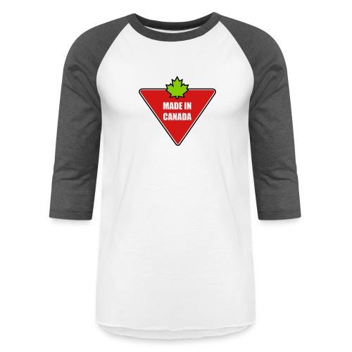 Made in Canada Tire - Baseball T-Shirt