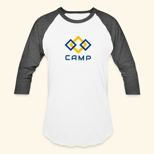 CAMP LOGO and products - Unisex Baseball T-Shirt