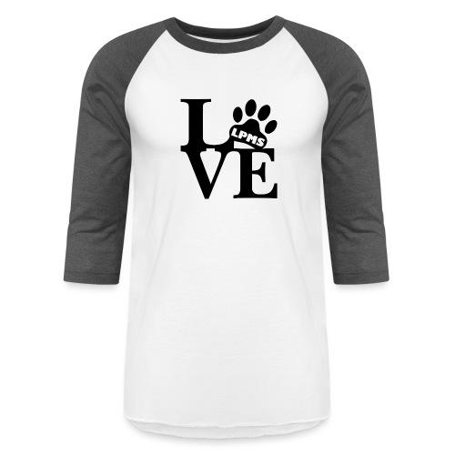 LPMS Love - Unisex Baseball T-Shirt