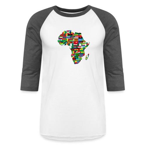 Motherland Africa - Unisex Baseball T-Shirt