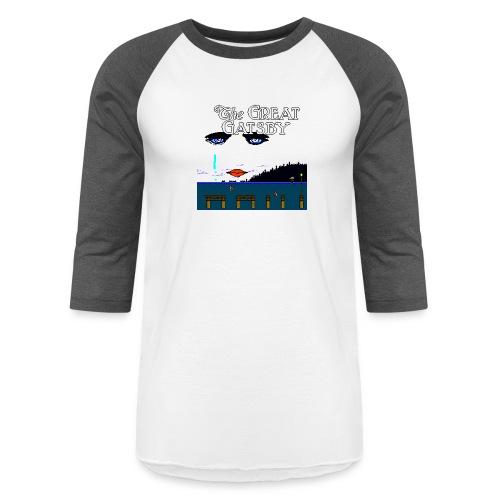 Great Gatsby Game Tri-blend Vintage Tee - Unisex Baseball T-Shirt