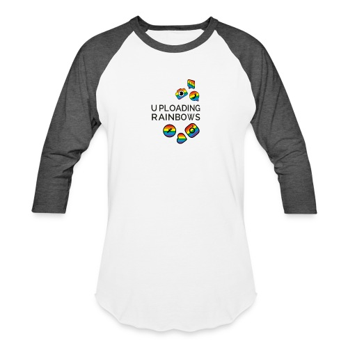 Celebrate the Rainbow - Shout Out Get Social - Unisex Baseball T-Shirt