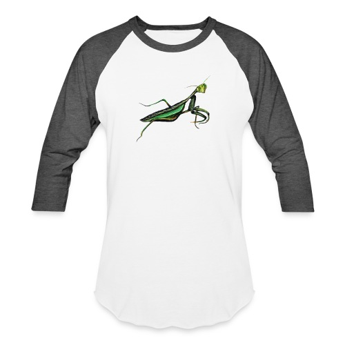 Praying mantis - Unisex Baseball T-Shirt