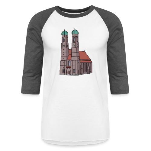 Munich Frauenkirche - Unisex Baseball T-Shirt