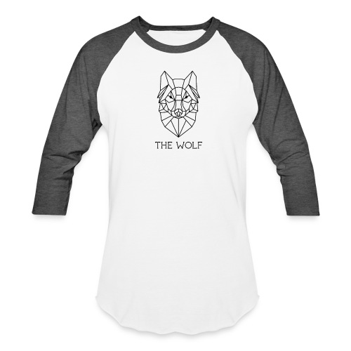 The Wolf - Baseball T-Shirt