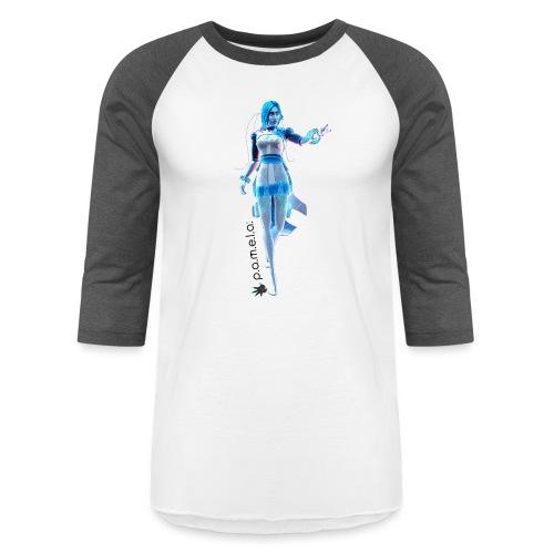 P.A.M.E.L.A. Figure - Unisex Baseball T-Shirt