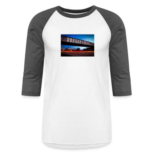 Husttle City Bridge - Baseball T-Shirt