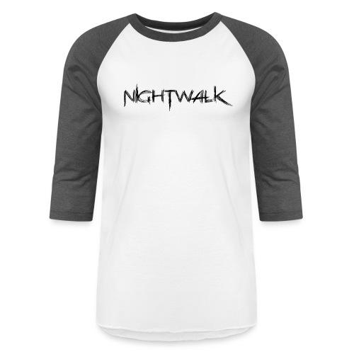 Nightwalk Logo - Baseball T-Shirt