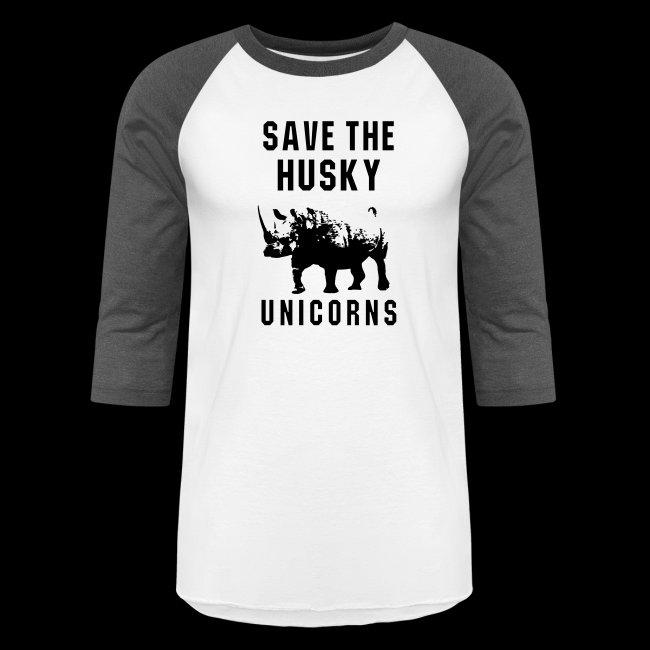 Save the Husky Unicorns | Funny Rhino